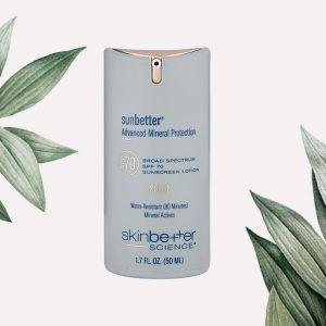 sunbetter® SHEER SPF 70 Sunscreen Lotion skinbetter science