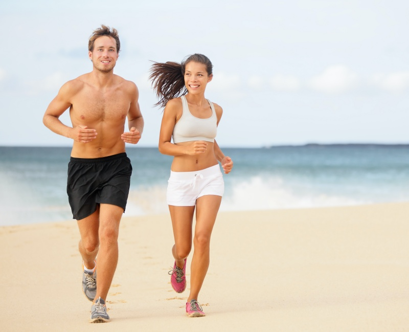 couple running, coolsculpting vs cooltone