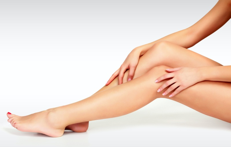 smooth legs, hair removal options
