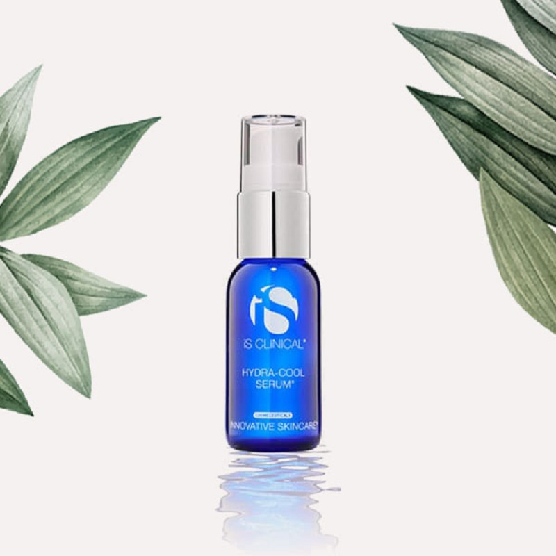 Summer skin care product iS Clinical HydraCool Serum for extra hydration.