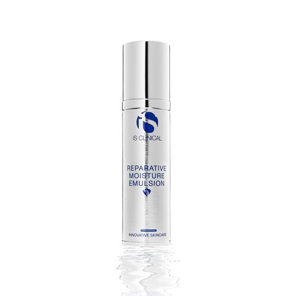 iS Clinical Reparative Moisture Emulsion reparative moisturizer.