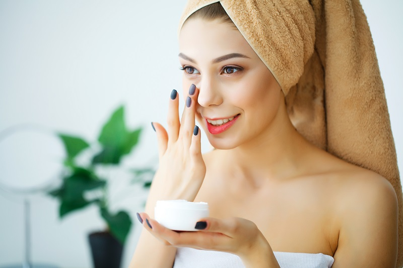 Moisturizer is an important step in daily skin care
