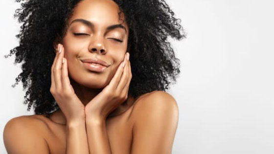 Dermal Fillers - A woman with sexy pout thanks to Restylane dermal filler