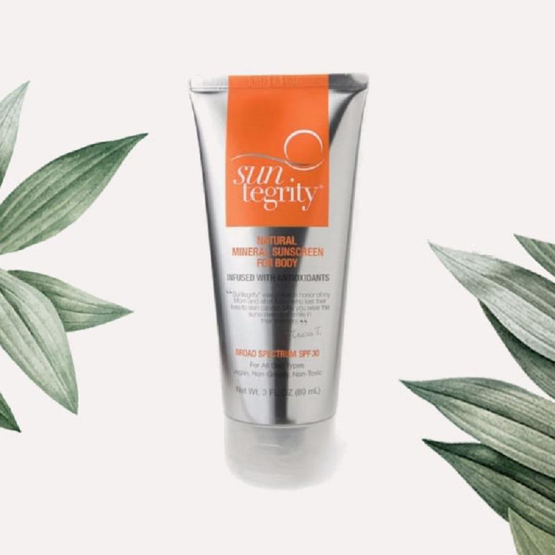 Suntegrity Natural Mineral Body Sunscreen for summer skin care