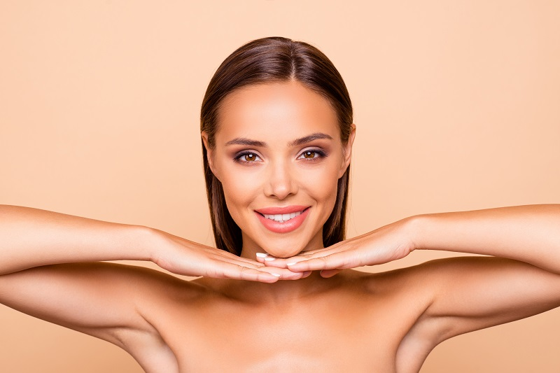 Swelling is a common side effect after the Kybella treatment.