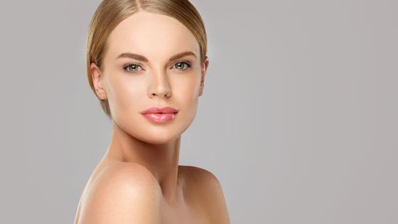 Dermal Fillers - Beautiful woman who received Versa dermal fillers